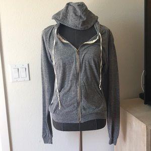 Brandy Melville 100% cotton gray hoodie